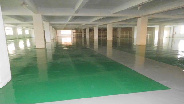 佛山市南海沙头朗星汇恒家具五金厂选用地卫士环氧地坪漆工程
